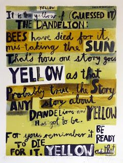 Dick Frizzell, Yellow
