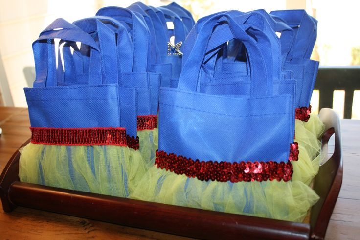 Party favor bags, Snow White Party