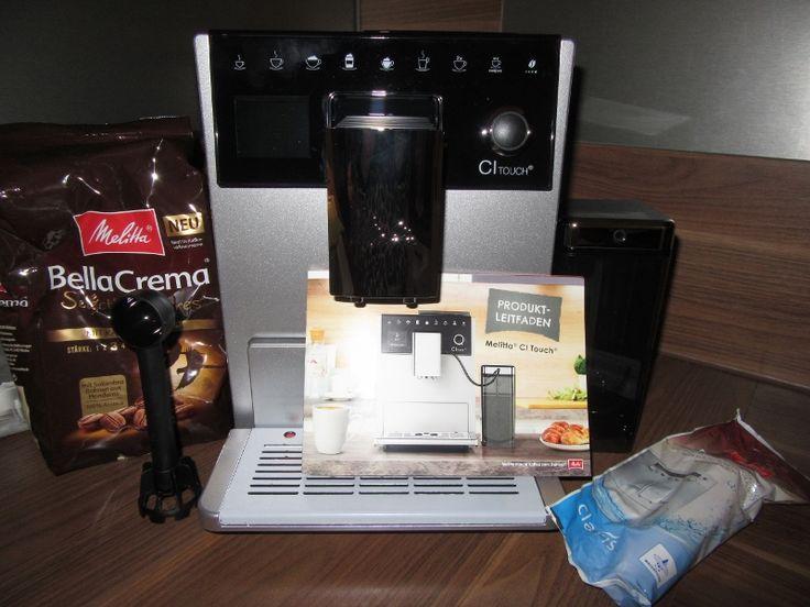 In Kooperation mit Paart durften wir den brandneuen Melitta® CI Touch® Kaffee-Vollautomaten testen.