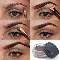 Wish | New Eyebrow Enhancers Waterproof Long Lasting EyeBrow Gel Makeup Eyebrow Cream