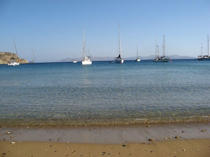 Katsadia beach at Lipsi island Greece #island