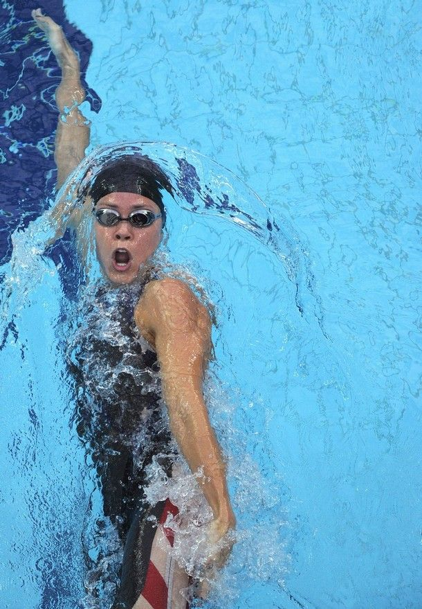 """Natalie Coughlin. The first female to swim 100-meter backstroke in under 60 seconds. The first female in Olympic history to win six medals in a single Olympiad. """"Without goals, training has no direction"""" Natalie Coughlin. http://www.thextraordinary.org/natalie-coughlin"""