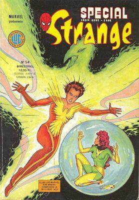 Couverture de Spécial Strange -54- Spécial Strange 1988