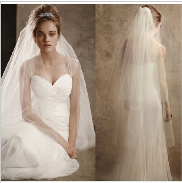 Cheap bridal veil, Buy Quality bridal veil styles directly from China veil bridal Suppliers: Stock Hot New 2017 Spring Styles 4 Layers White Wedding dresses Bridal Veils flor cabelo casamento noiva