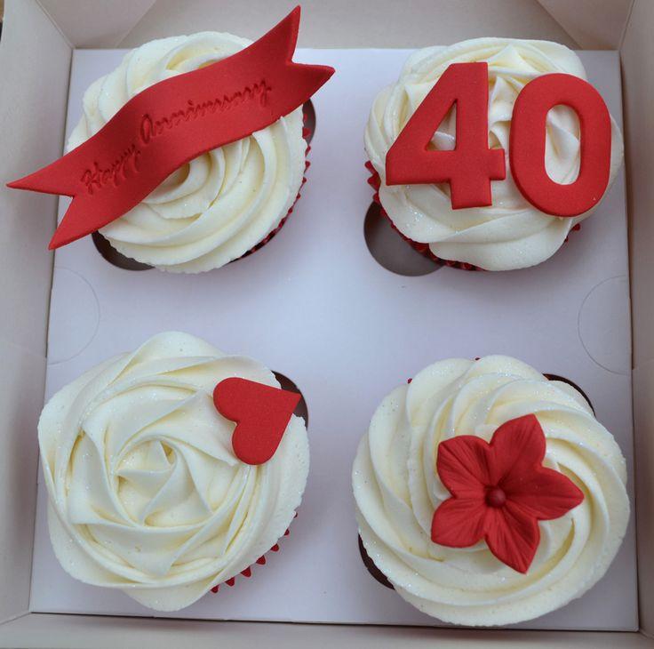 anniversary cupcake gift box - Cupcake Valentine Box