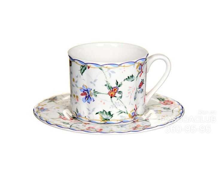 Чашка с блюдцем Imari Букингем 200мл 2пр IM15018E-A218