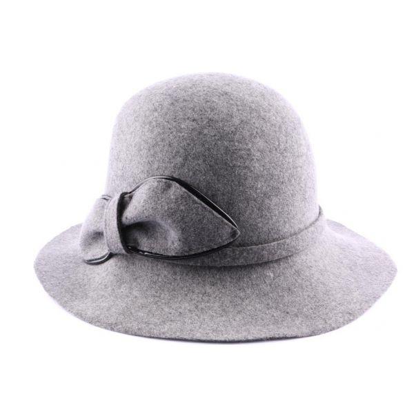 Chapeau Feutre Netuk gris perle #soldes2016 #bonplan #mode sur votre E-shop Hatshowroom.com #startup