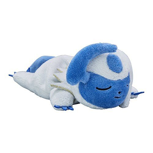 Pokemon Sleeping Absol Plush Good Night Ver. from Japan