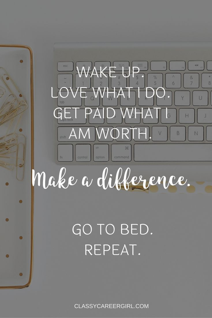 You are in charge of your career and life. Find your calling and make a difference every day.