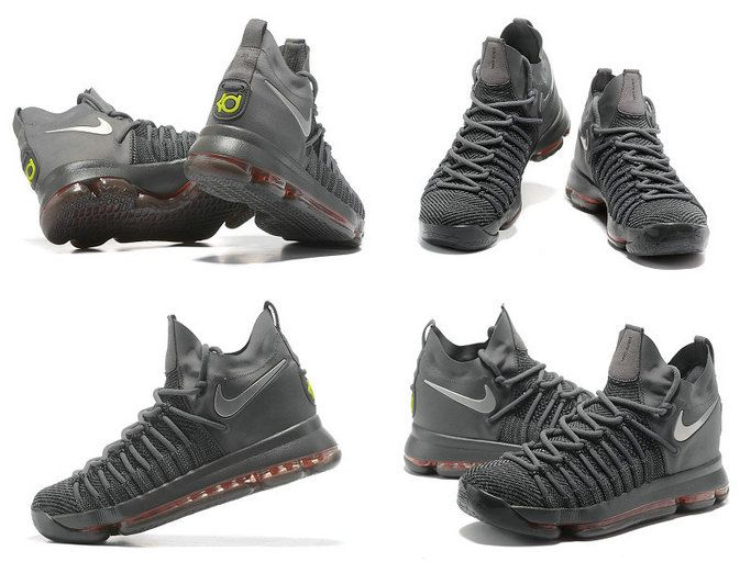 Sale New New Nike KD 9 Elite Dark Grey Time to Shine Kevin Durant Shoes 2017