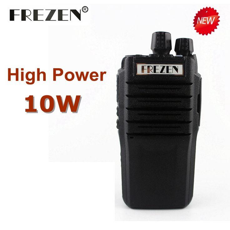10W Walkie Talkie F-988 Waterproof UHF 400-470MHz 16CH Handheld Two Way Radio Anti-noise Big Speaker 3800mah Transceiver