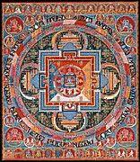 Thousand-Armed Chenresi, a Cosmic Form of the Bodhisattva Avalokiteshvara | Tibet | The Met
