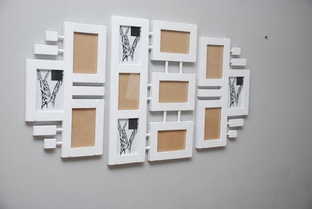 Galeria ścienna Ramki na zdjęcia drewniane drewno - Drewutnia-art - Ramki na zdjęcia