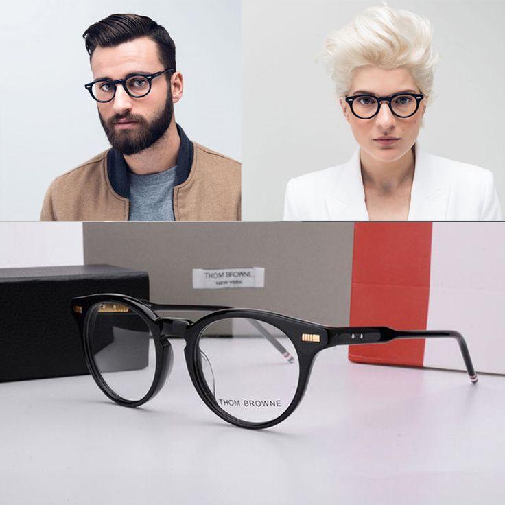 2017 том браун очки оптические TB404 бренд oliver peoples очки Круглые очки кадр Моды темперамент óculos де грау