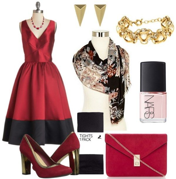 Plus Size Winter Outfit Ideas | 15 Plus Size Fall Winter Wedding Guest Dress u2013 Outfit Ideas ...