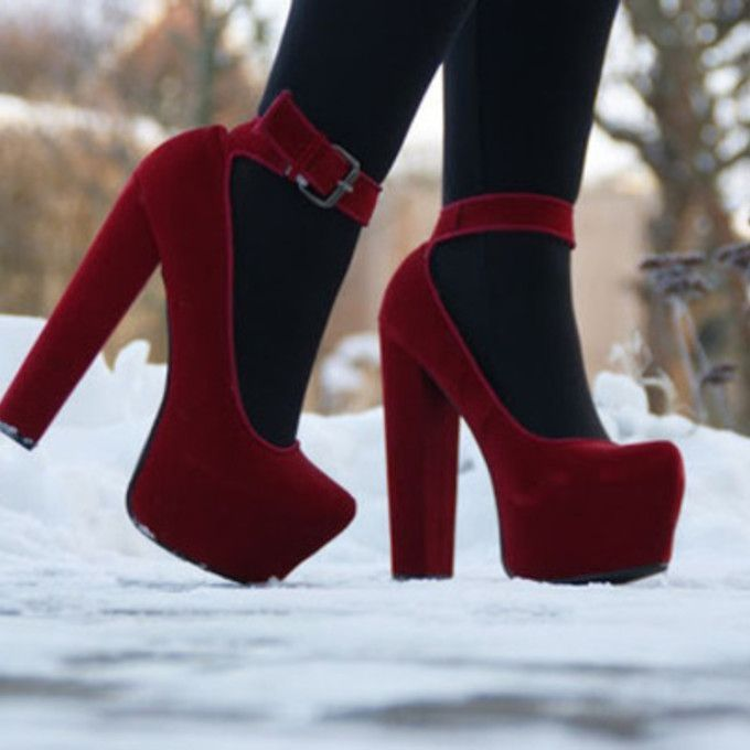 alxgqv-l-c680x680-shoes-velvet-high+heels-red-mary+jane-tights-cute-deep+red-winter-snow-fall-pretty-platform+heels-platform+shoes-monoo+shoes-hight+heel+ ...