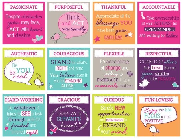 Our Core Values:  Why I love being a part of this company!  www.mythirtyone.com/23714