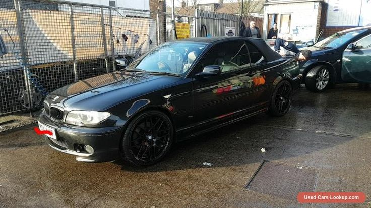 bmw e46 330ci convertible black #bmw #330 #forsale #unitedkingdom