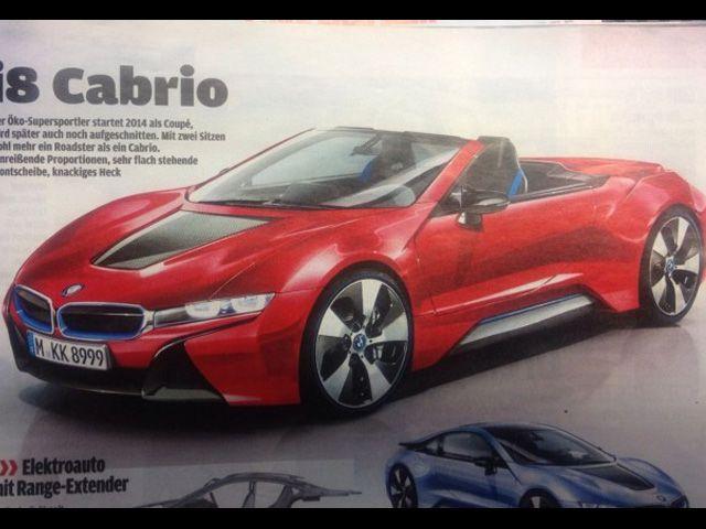 BMW i8 Cabrio Revealed?
