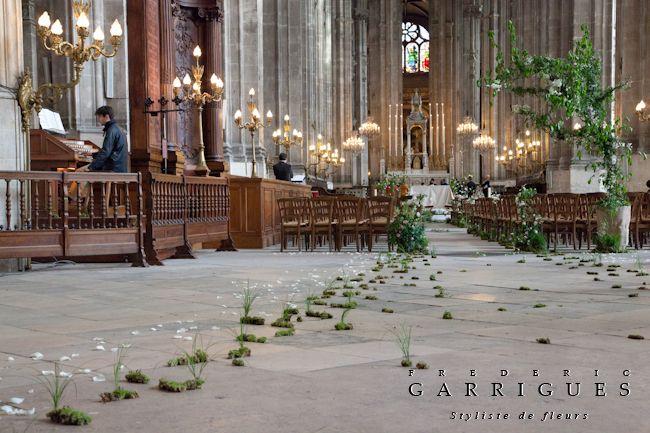 D coration d glise un air de sous bois mariage originals and the o 39 jays - Decoration eglise mariage champetre ...