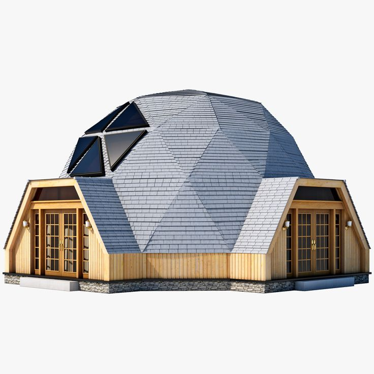 This Geodesic Dome House is a high
