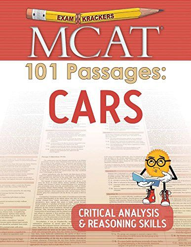MCAT 101 Passages Cars Critical Analysis \ Reasoning Skills - critical analysis