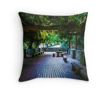The Sheltered Repose Throw Pillow