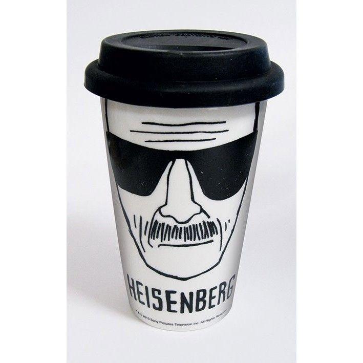 Mug Blanc de Voyage Heisenberg Breaking Bad