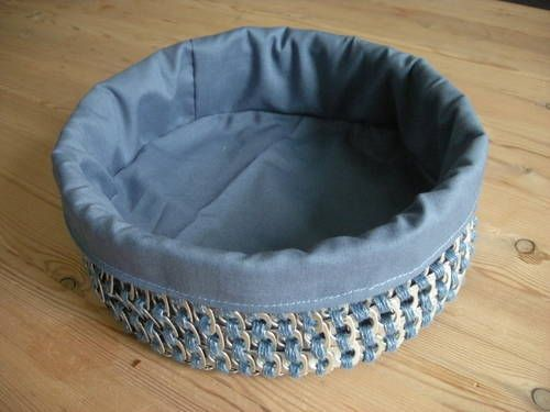 Crocheted Poptab Breadbasket - CROCHET