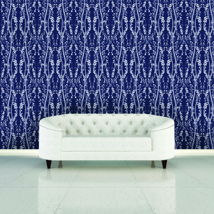 Interior Place Misery Blue Branches Br089 Wallpaper 49 00 Http Www Self Adhesive