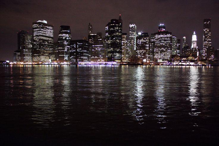 Lower Manhattan in New York, NY