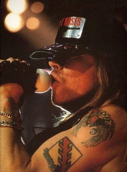 Axl Rose of Guns N' Roses, early 90s #axlrose #rockicon #rockstar #gnr #waxlrose #GunsnRose
