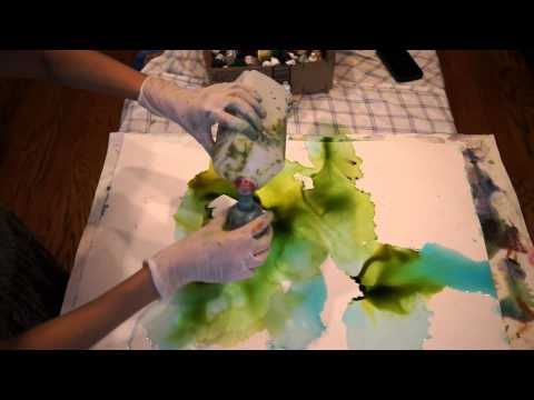 ▶ Creative Explorations Painting with Alcohol Ink on Yupo - YouTube