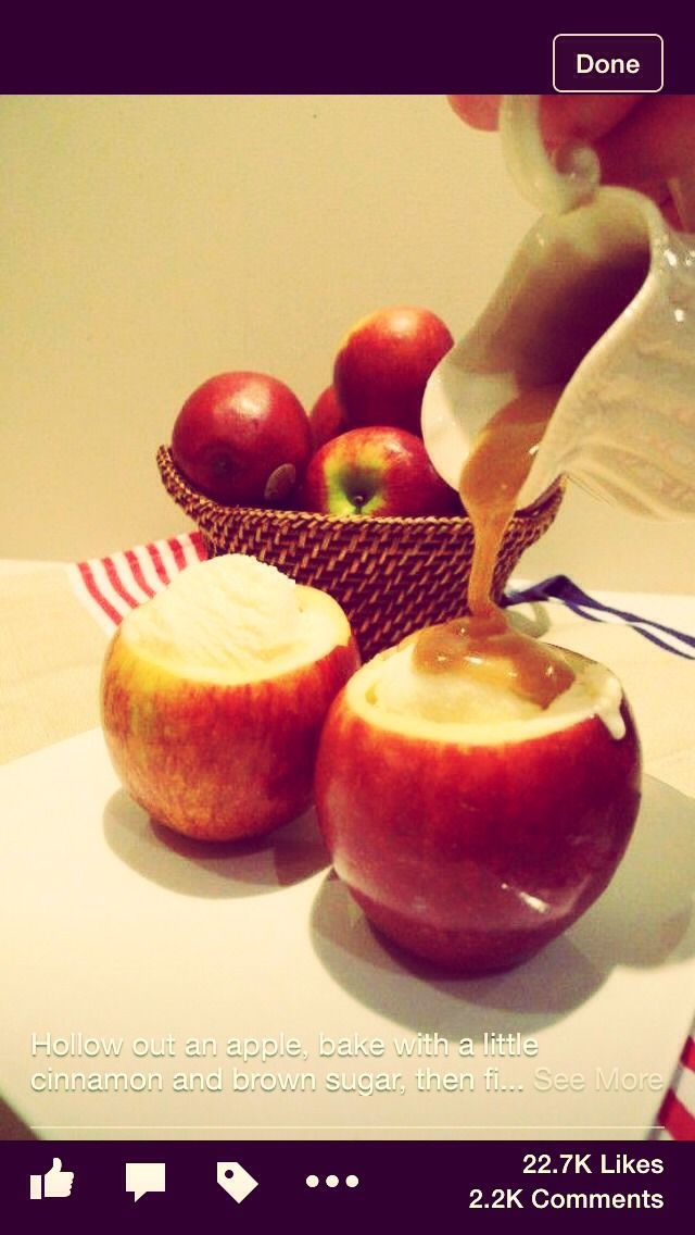 Caramel Apple à LaMode #Food #Drink #Trusper #Tip