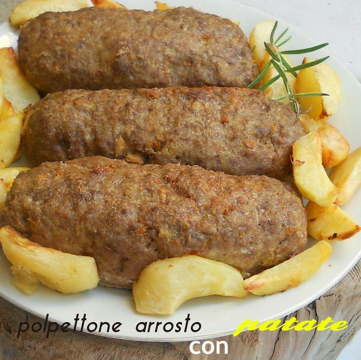 Cucina della Campania :Polpettone con patate