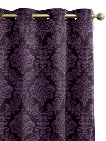 Florence Royal Purple Curtains- these look like they would keep out the sun