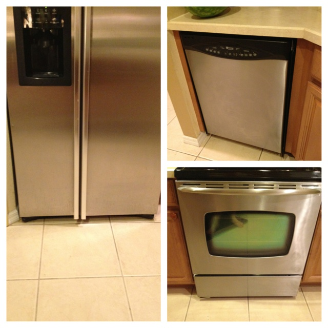 Stainless steel cleaner stainless steel dishwasher and stainless