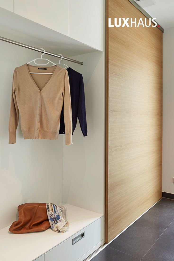 Garderobe Hauseingang Flur Eingangsbereich Hausbau Garderobe Hauseingang Flur Eingangsbereich Haus In 2020 House Entrance Entrance Hallway Home Construction