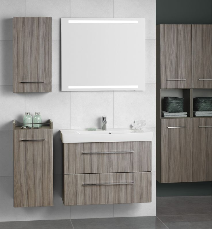 Supplement with extra wall cabinets, mid-height base cabinets and tall cabinets if you need more storage space.
