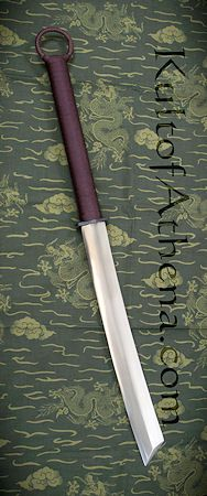 Kris Cutlery Dadao with Folded Steel Blade