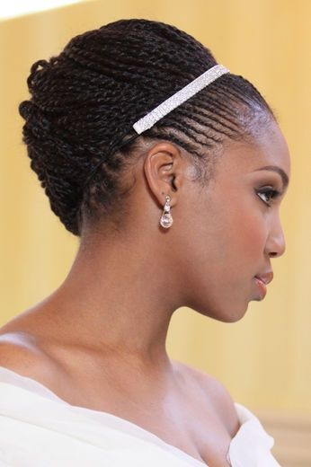 african american hair twist styles headbands are the crown to your 1803 | 480554f312b3b700e282ff0cb7ae7885 relaxed hair hairstyles medium hairstyles