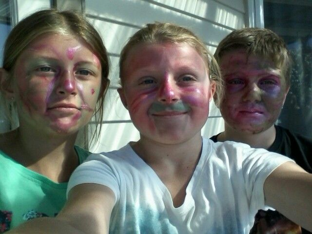 We did make overs... ugly ones