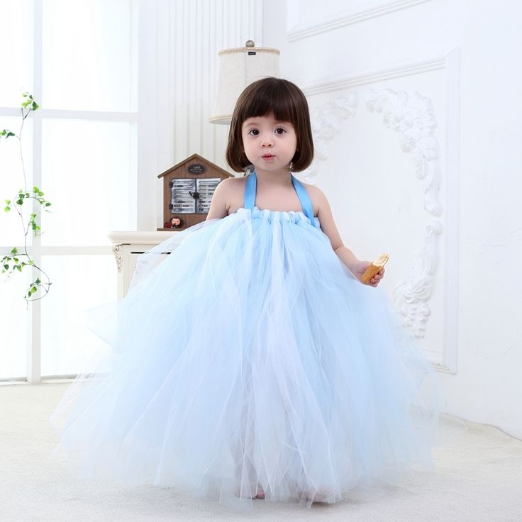 (34.99$)  Watch more here  - 2017New High Quality Fashion Baby Pageant Dress Tutu Princess Blue Formal Infant Yarn Dress For Wedding 1-10T Baby Girl Birthday