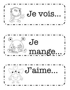 "This is a work in progress. I am looking to make French sentence prompts as a literacy center for my grade 2 French Immersion class.%0A%0AI need many more prompts, and I'm unsure if this will really work in the way I intended. I think it would be more valuable to write, ""Mes amis jouent..."" instead of ""Ils jouent..."" I'll revisit it at a later date.%0A%0AI'm putting it up in case anyone can make use of it as is."