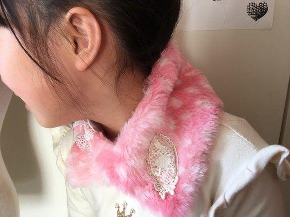不思議の国のアリス ファーティペット (つけ襟、マフラー)