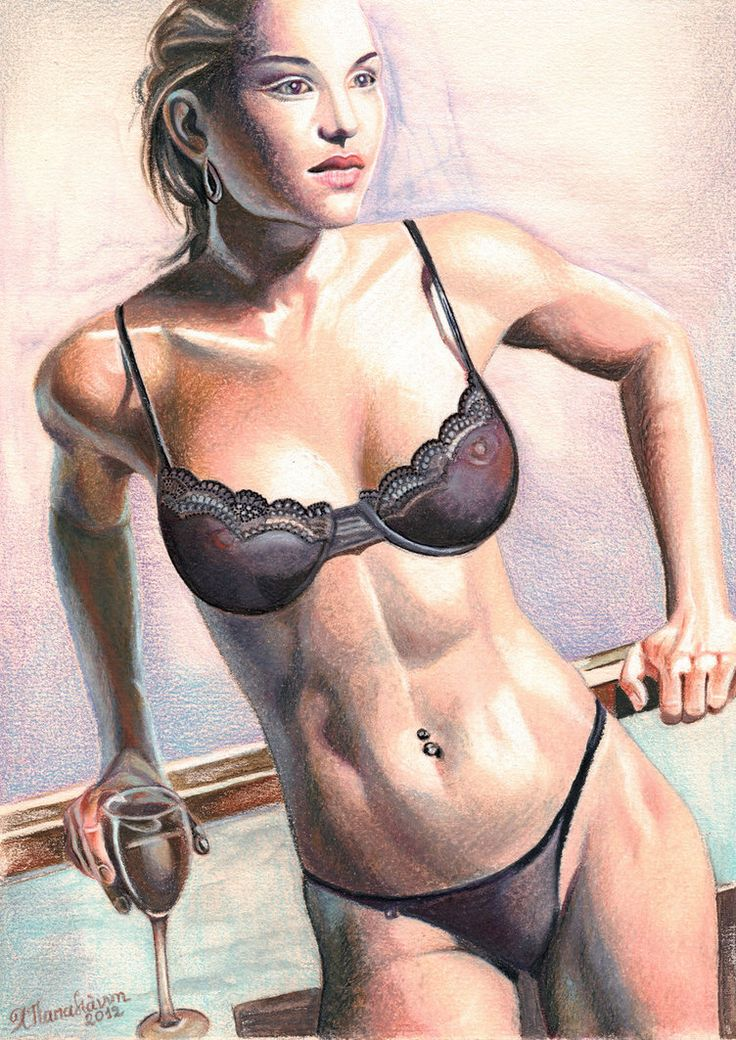 Finest Nude Colored Pencil Images