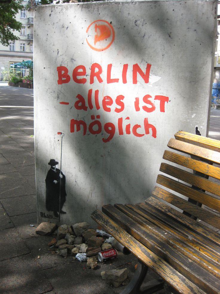 Berlin, Stadt schic und Magie. Du wirst mir. Ihre Geheimnisse will ich entdecken.