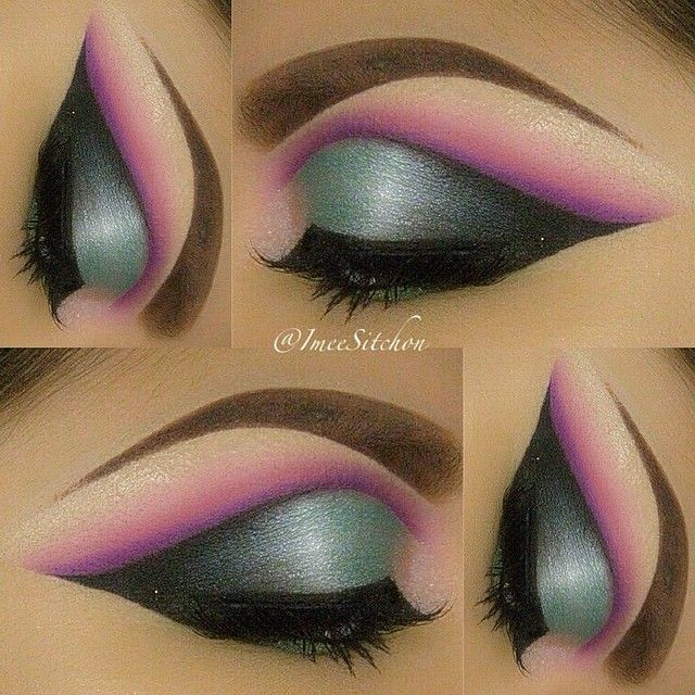 93 Best Pink Palette Images On Pinterest: 93 Best Bright And Fabulous Eye Makeup Images On Pinterest