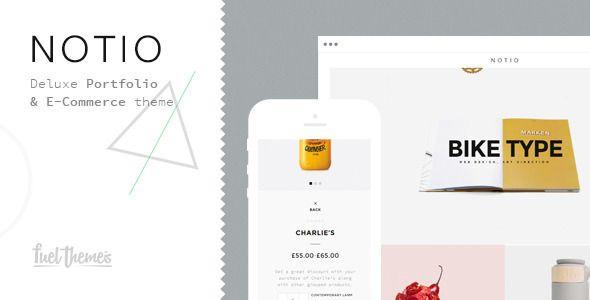 Notio - Deluxe Portfolio Theme - Portfolio Creative