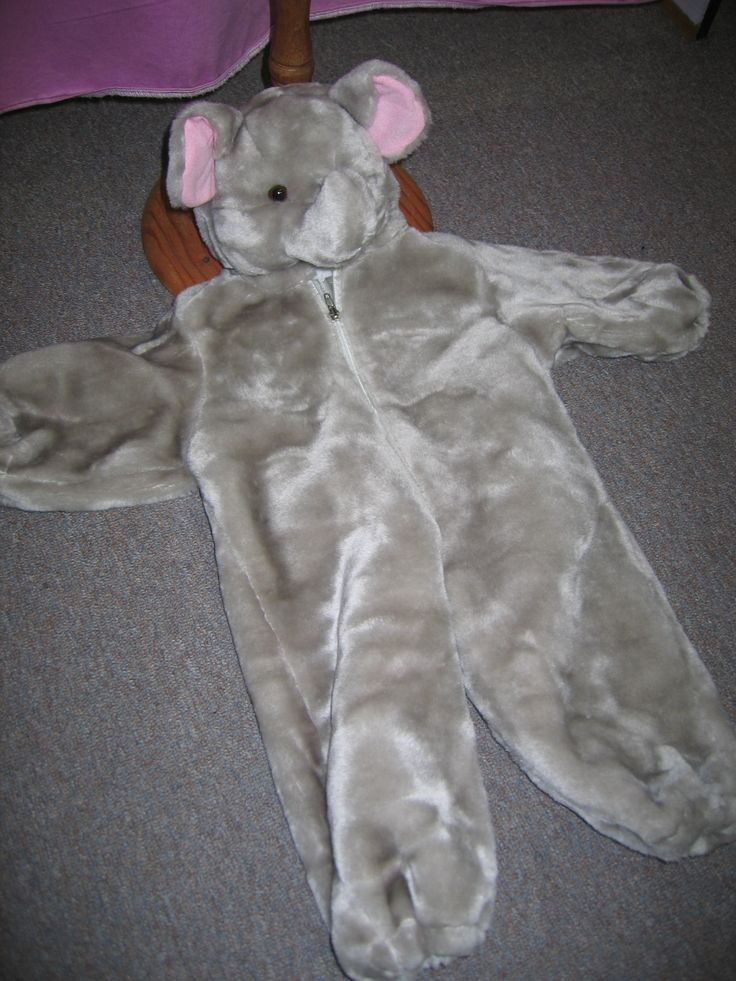 Children's Baby elephant size 0-1 for hire
